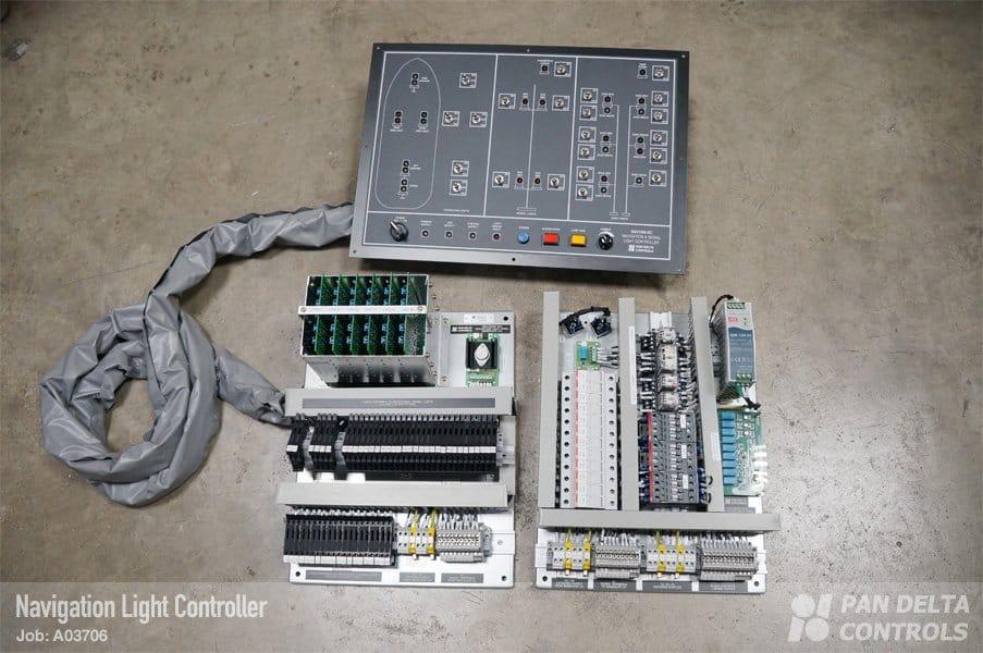Navigation Light Control Panel Pan Delta Controls Pte Ltd