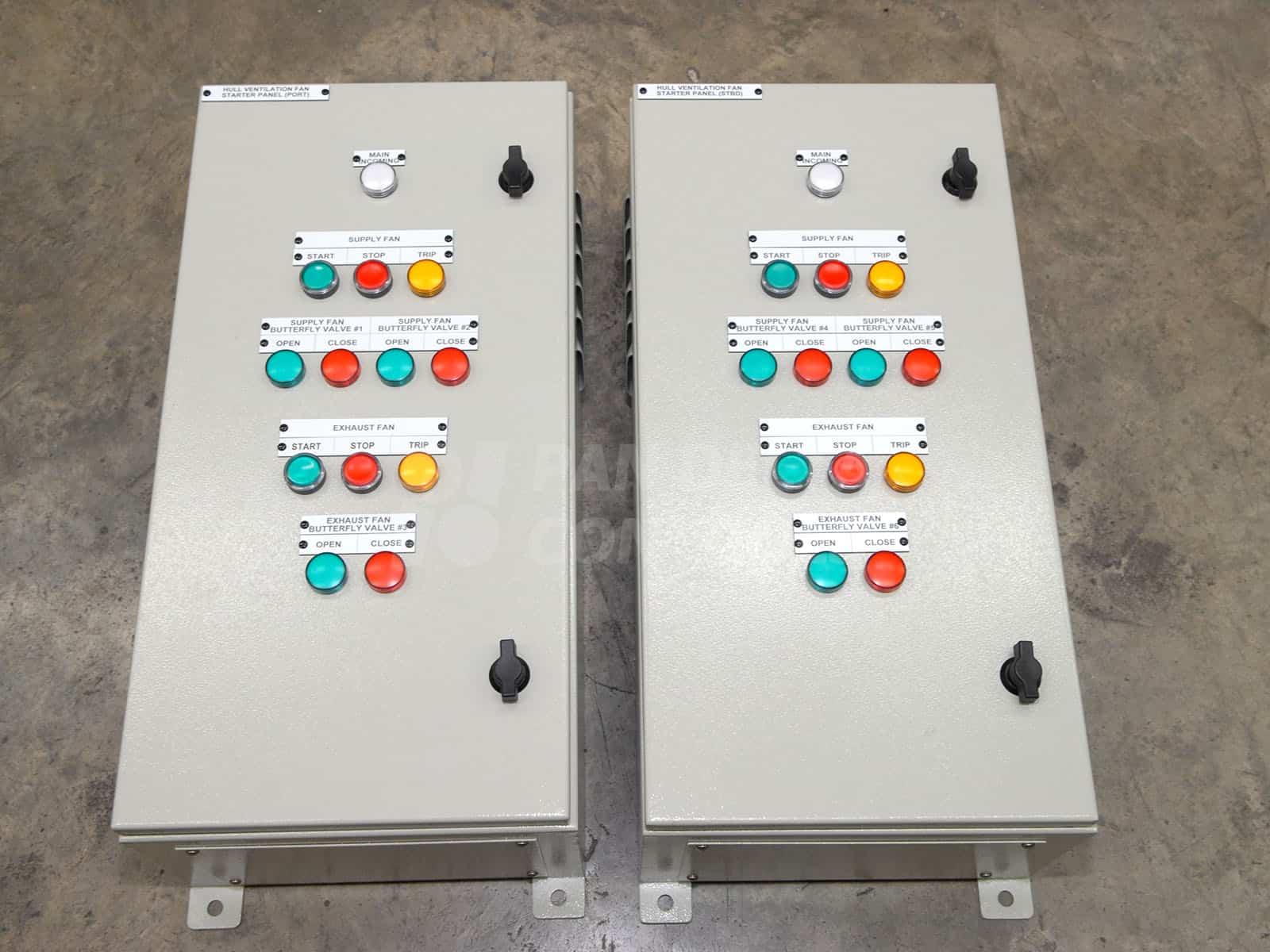 Motor Starter Control Panel Pan Delta Controls Pte Ltd