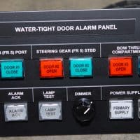 Water-Tight Doors Alarm Panel